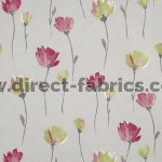 Juliet 687 Pink Stone Fire Resistant Fabric