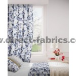 Kinetic 137 Cornflower Gold Curtains Room Shot Mock up