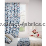 Kinetic 150 Blue Grey Curtains Room Shot Mock up