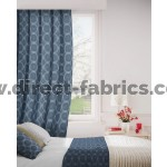 Logic 100 Blue Curtains Room Shot Mock up