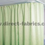 Meadow green Cubicle Curtains