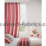Midsummer 488 Damson Oatmeal Curtains Room Shot Mock up