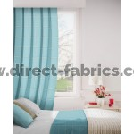 Milan 131 Azure Curtains Room Shot Mock up