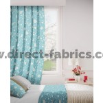 Monaco 131 Azure Curtains Room Shot Mock up