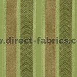 +Nobel Stripe 284 Sage Fawn Fire Resistant Curtains