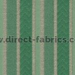 Nobel Stripe 139 Aqua Fire Resistant roman blinds