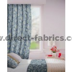 Parnell in Pewter Flame Retardant Curtain