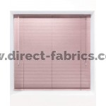 Pink 25mm Metal Venetian Blind - Made to Measure