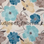 Poetry 155 Duck Egg Blue Fire Resistant roman blinds