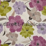 +Poetry 663 Mauve Lime Fire Resistant Curtains