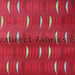 Salsa 400 Red Fire Resistant Fabric
