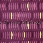 Salsa 624 Mulberry Fire Resistant Fabric