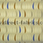 Salsa 831 Cream Gold Fire Resistant roman blinds