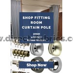 Shop fitting Room Curtain Poles