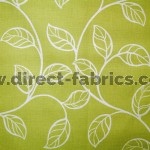 +Swing 226 Lime Fire Resistant Curtains