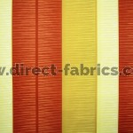 Tango Stripe 348 Gold Henna Fire Resistant Fabric