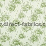 Tiffany 205 Sage Green Fire Resistant roman blinds