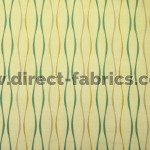 Toro 318 Maize Teal Fire Resistant Fabric