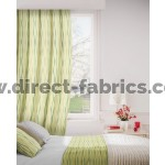 Toro 318 Maize Teal Curtains Room Shot Mock up