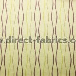Toro 867 Linen Mulberry Curtains