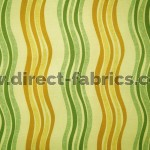 Twist 320 Gold Green Fire Resistant Fabric