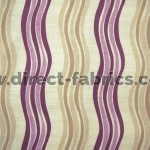 Twist 681 Mulberry Linen Fire Resistant Fabric