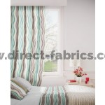 Twist 713 Mink Duck Egg Curtains Room Shot Mock up