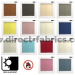 Vertical Blackout Blinds Flame Retardant