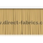 Venus Stage Curtains Gold