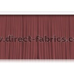 Venus Stage Curtains Ruby