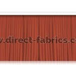 Venus Stage Curtains Russet