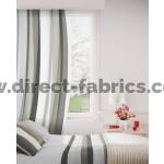 Verano 901 Silver Curtains Room Shot Mock up