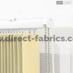 Vertical Blinds Daylight Champagne