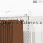 Vertical Blinds Daylight Chocolate