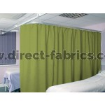 Washable Cubicle Curtains Apple
