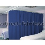 Washable Cubicle Curtains Cobalt
