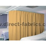 Washable Cubicle Curtains Gold