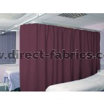 Washable Cubicle Curtains Grape