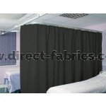 Washable Cubicle Curtains Graphite