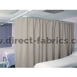 Washable Cubicle Curtains Grey