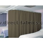 Washable Cubicle Curtains Hessian