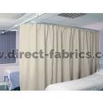 Washable Cubicle Curtains Ivory