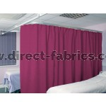 Washable Cubicle Curtains Lipstick