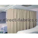 Washable Cubicle Curtains Natural