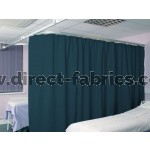 Washable Cubicle Curtains Peacock