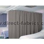 Washable Cubicle Curtains Pewter