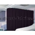 Washable Cubicle Curtains Purple - Blue