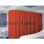 Washable Cubicle Curtains Russet