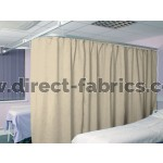 Washable Cubicle Curtains Special Cream