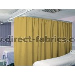 Washable Cubicle Curtains Tarragon